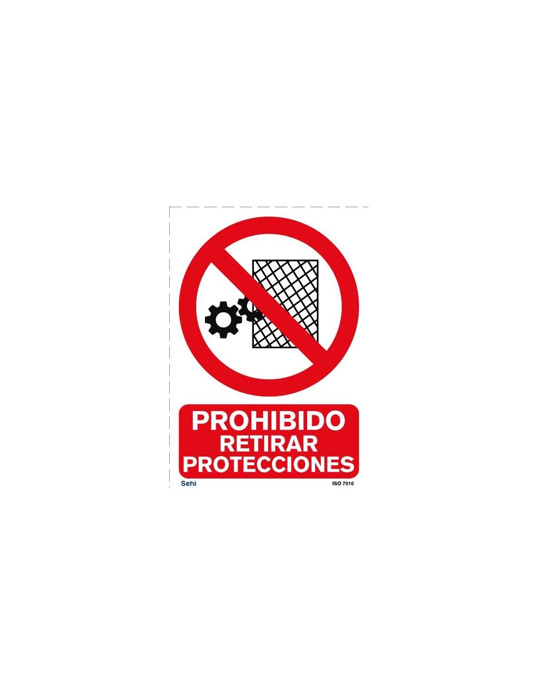 Señal A4 PVC obligatorio el uso de redecilla o gorra O15