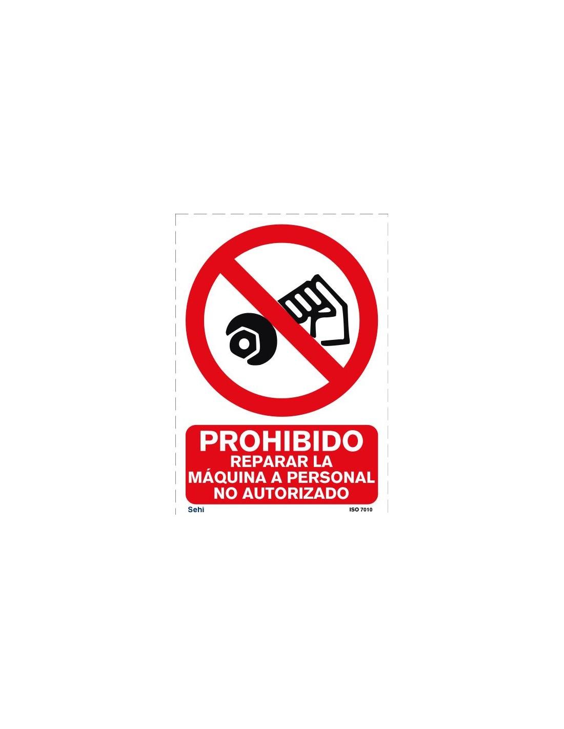 Señal A4 PVC obligatorio el uso de bata O19