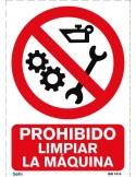 Señal A4 PVC obligatorio el uso de cinturón O20
