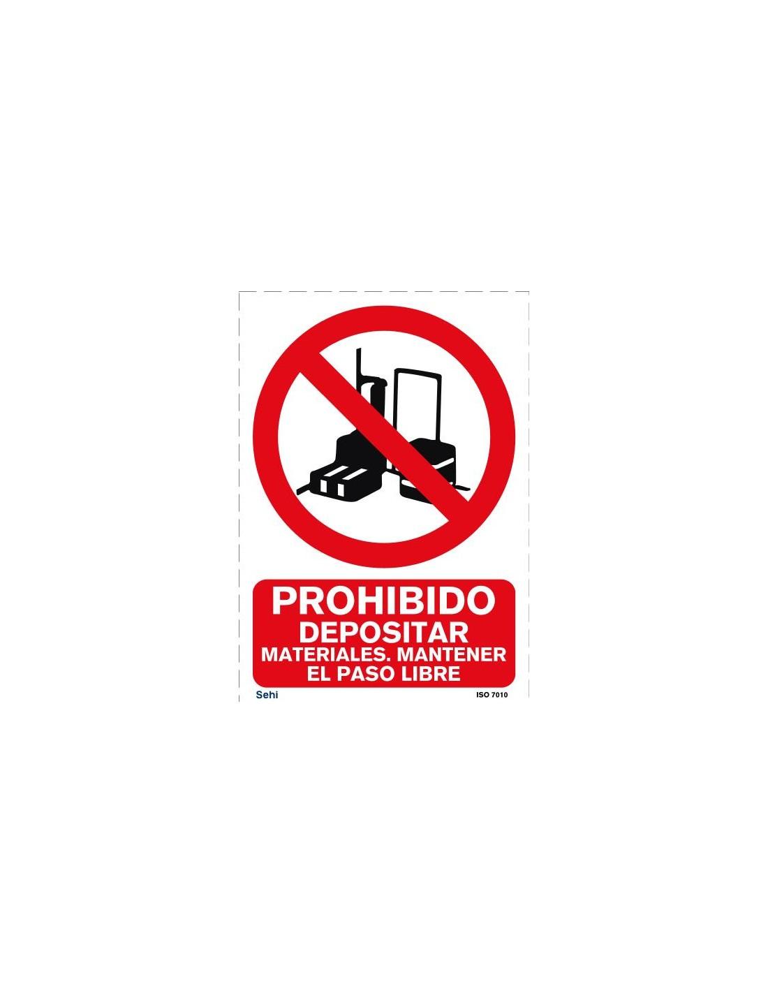 Señal A4 PVC obligatorio el uso de sistemas anticaídas O21