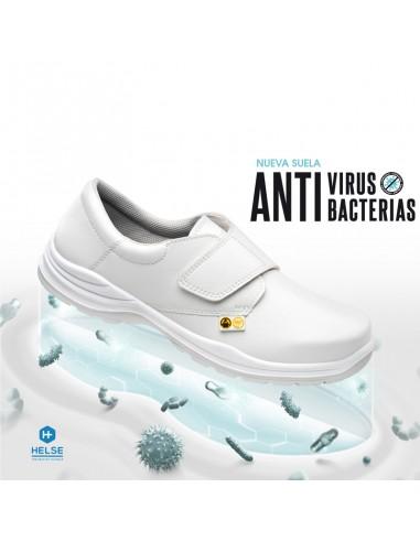 Zapato de microfibra BARCELONA Blanco...