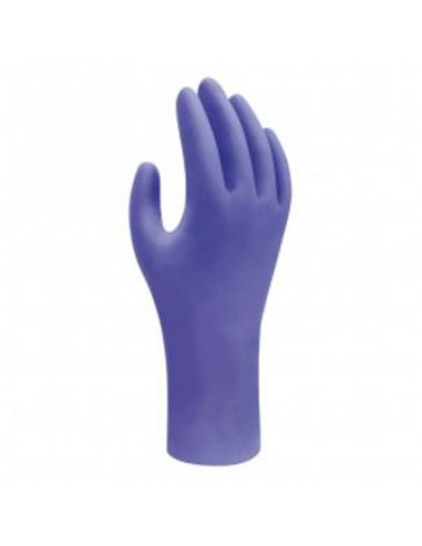 Guante nitrilo desechable azul 7540...