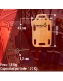 Anticaídas retráctil cinta Sekurblock 2,5m