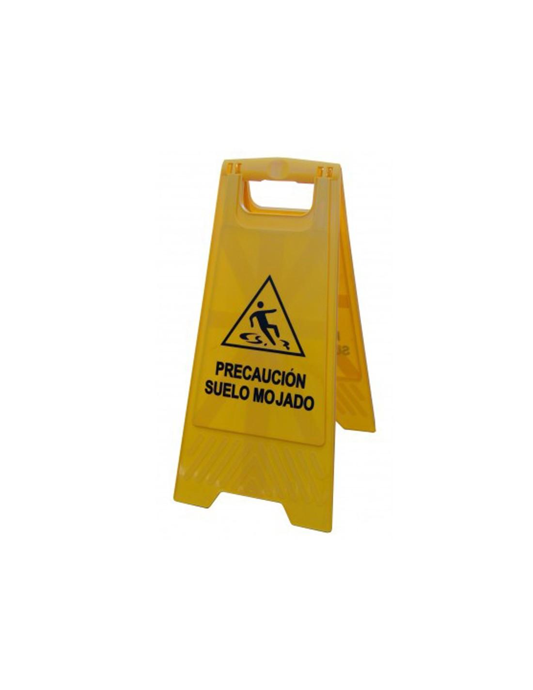 Señal A4 PVC peligro al pisar AV114